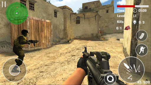 Counter Terrorist Shoot  gameplay | by HackJr.Pw 5