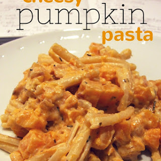 Cheesy Pumpkin (or Butternut Squash) Pasta.