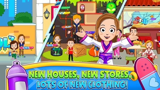 My Town : Street Fun MOD (Paid Content) 5
