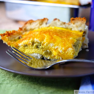 Hatch Chile, Egg & Potato Casserole