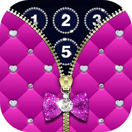 Diamond Zipper Lock Screen (app)