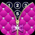 Diamond Zipper Lock Screen download
