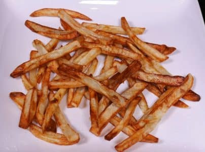 Philips airfryer review demo French Fries 6