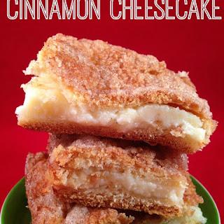 Cinnamon Cheesecake.