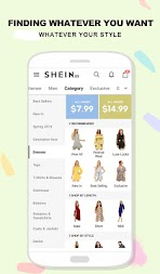 SHEIN-Fashion Shopping Online APK screenshot thumbnail 2