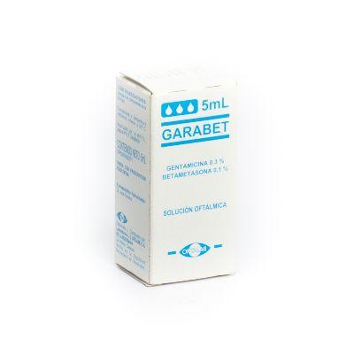 Gentamicina + Dexametasona Garabet 0,3/0,1%