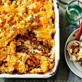 Vegetable Shepherd's Pie.