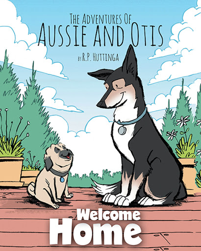 The Adventures Of Aussie and Otis cover