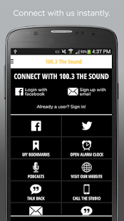 100.3 The Sound- screenshot thumbnail