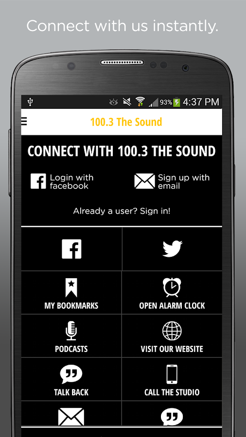 100.3 The Sound- screenshot