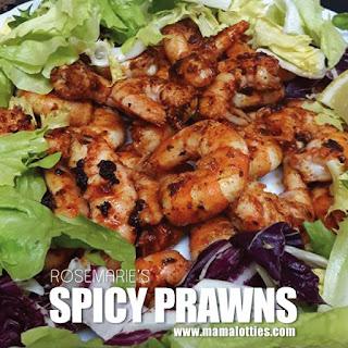 Spicy Prawns.
