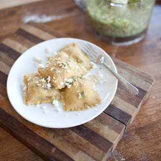 Brussel Sprout, Fig, and Feta Ravioli Recipe