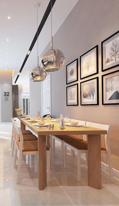 Thiết kế nội thất chung cư nhà bếp