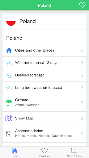 Poland weather forecast