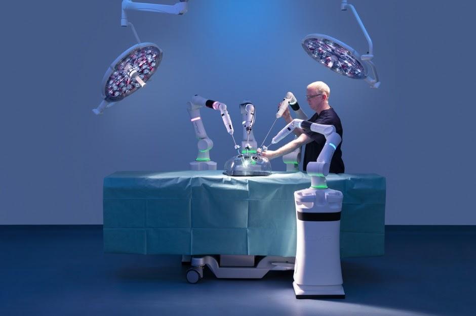 Великобритания разработала набор хирургических роботов для дебюта NHS