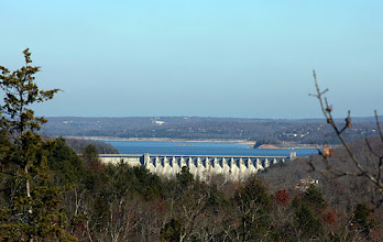 Photo: Other side of Bull Shoals Dam - From Fairview, AR