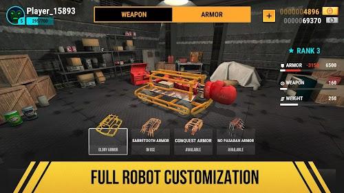 Screenshot 2 Robot Fighting 2 - Minibots 3D 2.3.11 APK MOD