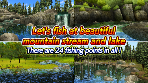 Code Triche Fly Fishing 3D II APK MOD (Astuce) screenshots 4
