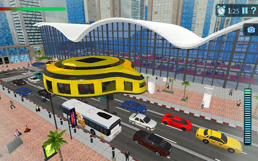 Gyroscopic Elevated Transport Bus: Rescue Driving for PC
