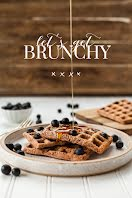 Let's Get Brunchy - Pinterest Pin item
