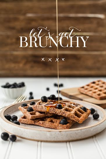 Let's Get Brunchy - Pinterest Pin Template