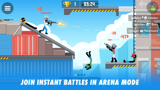 Stick Combats: Multiplayer Stickman Battle Shooter screenshots 1