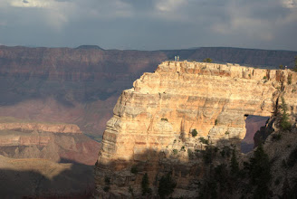 Photo: People at Cape Royal Viewpoint, Grand Canyon