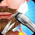 Barber Hair Cutting Salon: Mustache & Beard Shave icon