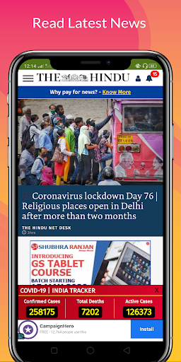All Daily English Newspaper India in a app Epaper 16.0 screenshots 11