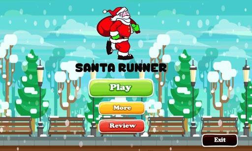 Noel Baba Runner 2D