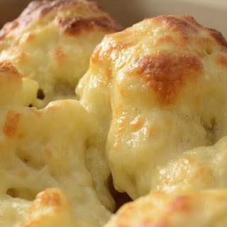 Low Fat Cheesy Cauliflower Recipe