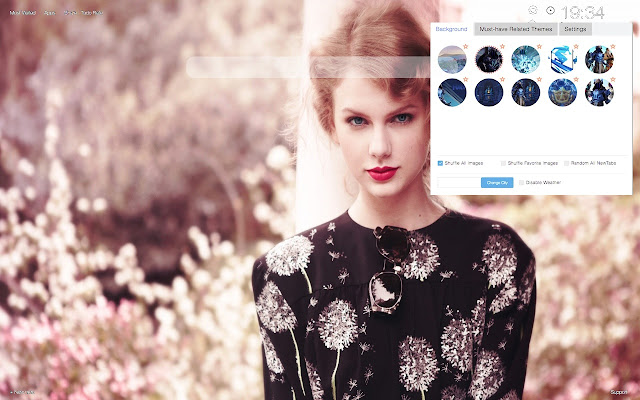 Taylor Swift HD Wallpapers New Tab