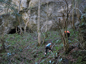 Photo: 14.Czarownica i Sławek postanawiają zwiedzić Ludrovską jaskinię.