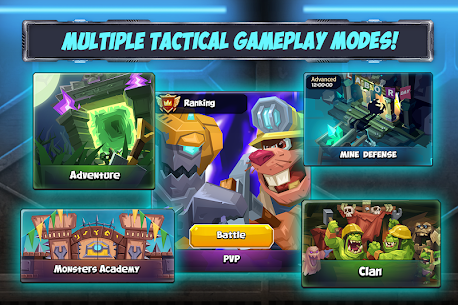 Tactical Monsters Rumble Arena MOD APK [High Attack + Defense] 1.18.6 6