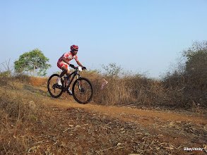 Photo: ... and Kiran in a close 3rd..