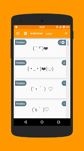 Moticons: Japanese Emoticons- screenshot thumbnail