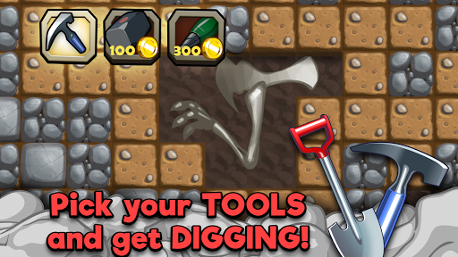 Dino Quest - Dinosaur Discovery and Dig Game - screenshot