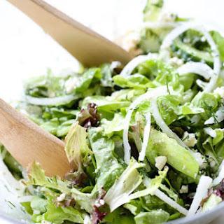 Cucumber Dill Salad with Lemon vinaigrette