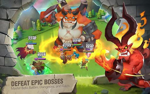 Télécharger Gratuit Heroes Bash mod apk screenshots 5