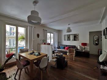 Appartement meublé 3 pièces 63,38 m2