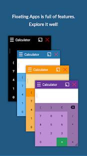 Floating Apps (multitasking) - náhled