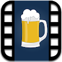 Drunk video booth icon