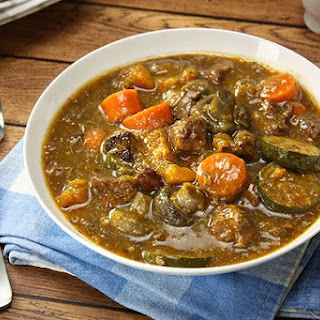 Herbed Lamb Casserole