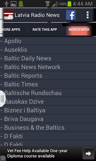 玩音樂App Latvia Radio News免費 APP試玩