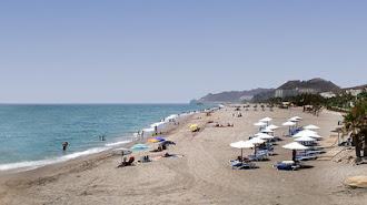 Fotografía de archivo de las playas de Mojácar.