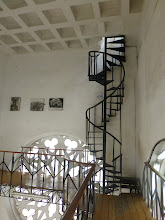 Photo: Further stairway to the bell tower