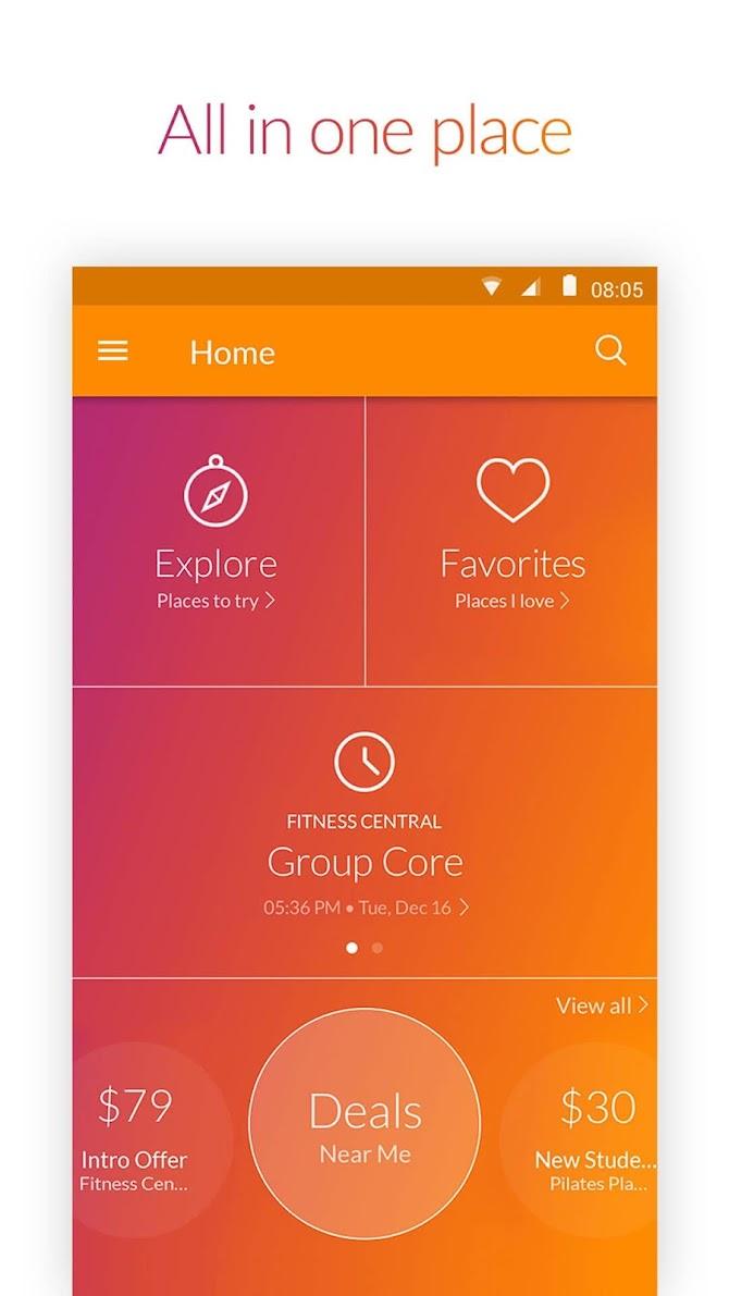 MINDBODY - Fitness & Wellness Android 5