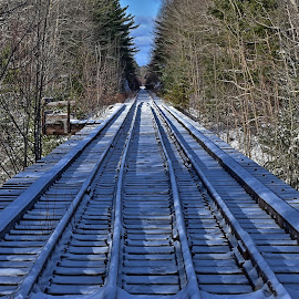 by John Geddes - Transportation Railway Tracks