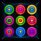 Puzzle d'anneaux de couleur icon