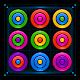 barevné kroužky puzzle